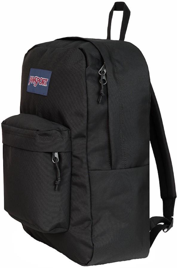 JanSport SuperBreak Plus Day Pack/Everyday Backpack, 26L Black
