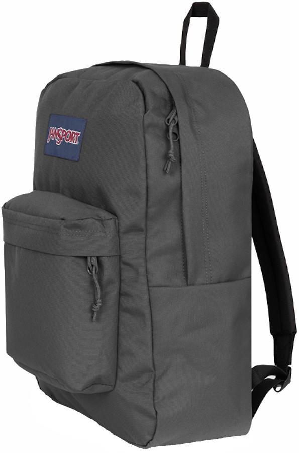 JanSport SuperBreak Plus Day Pack/Everyday Backpack 26L Graphite Grey