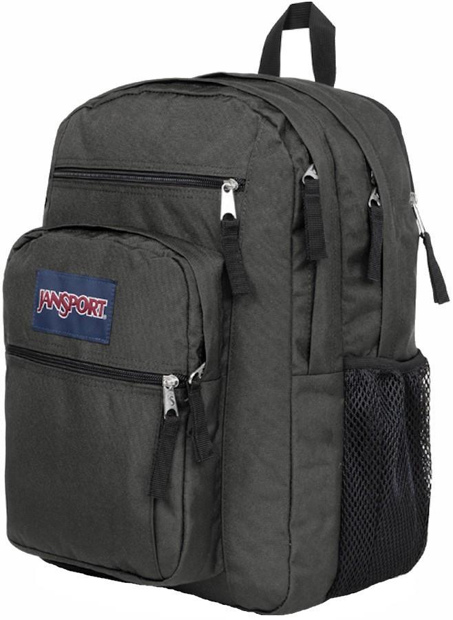 JanSport Big Student School Backpack/Day Pack, 34L Graphite Grey
