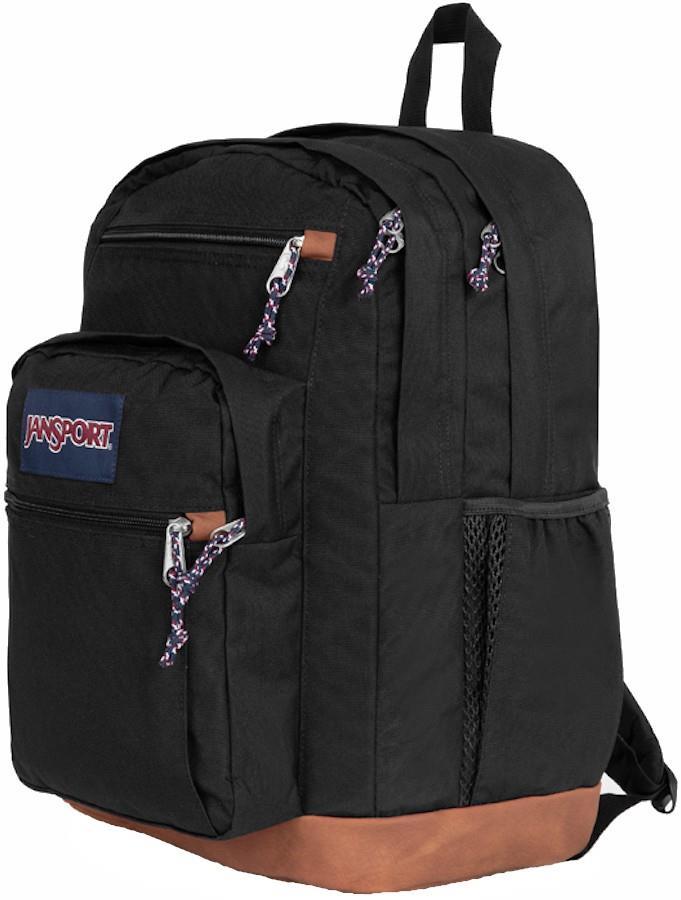 JanSport Cool Student School Backpack/Day Pack, 34L Black