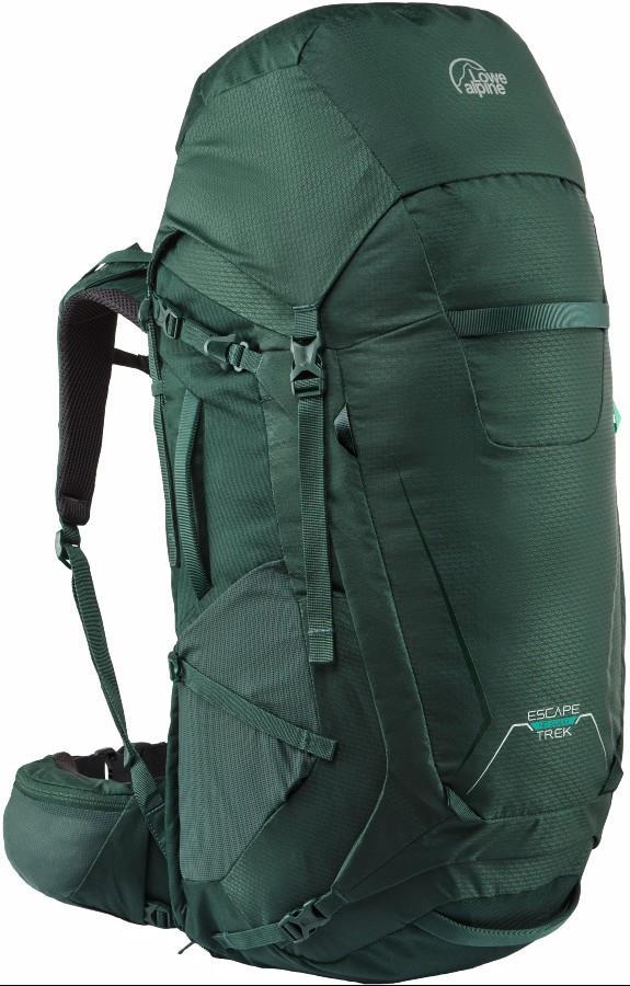 Lowe Alpine Escape Trek ND 50L+10 Trekking Backpack 50L+10 Nettle