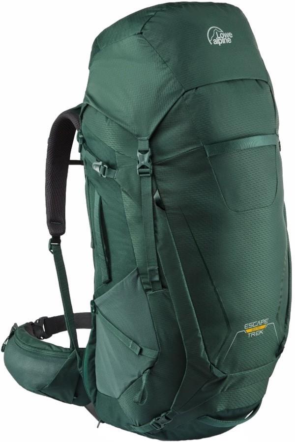 Lowe Alpine Escape Trek 60L+10 L-XL Trekking Backpack, 60+10L Nettle