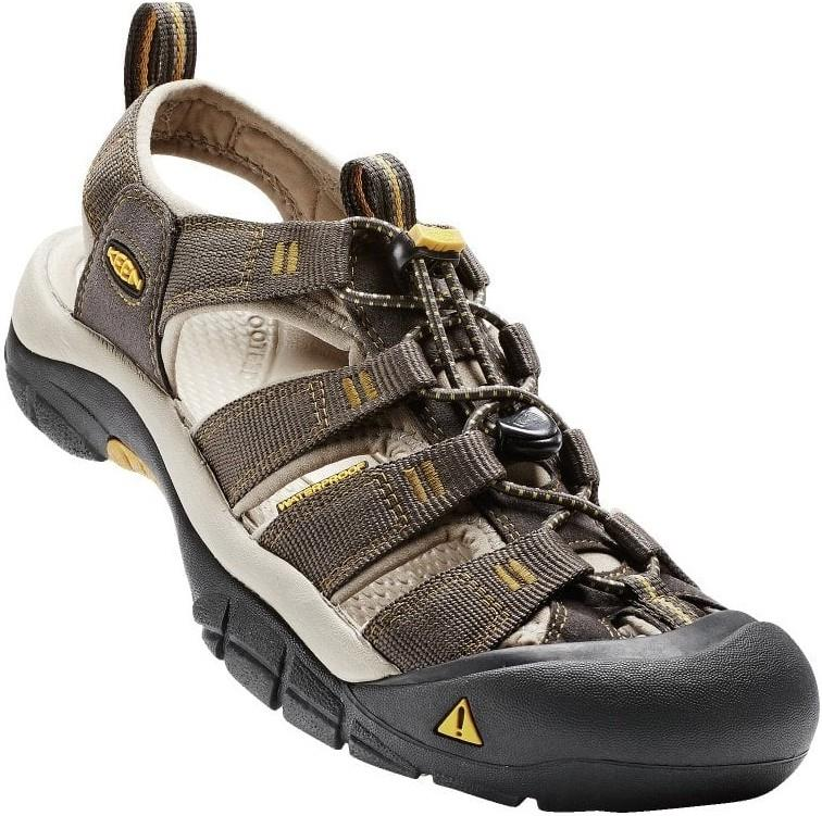 Keen Newport H2 Walking Sandals UK 7.5 Raven/Aluminium