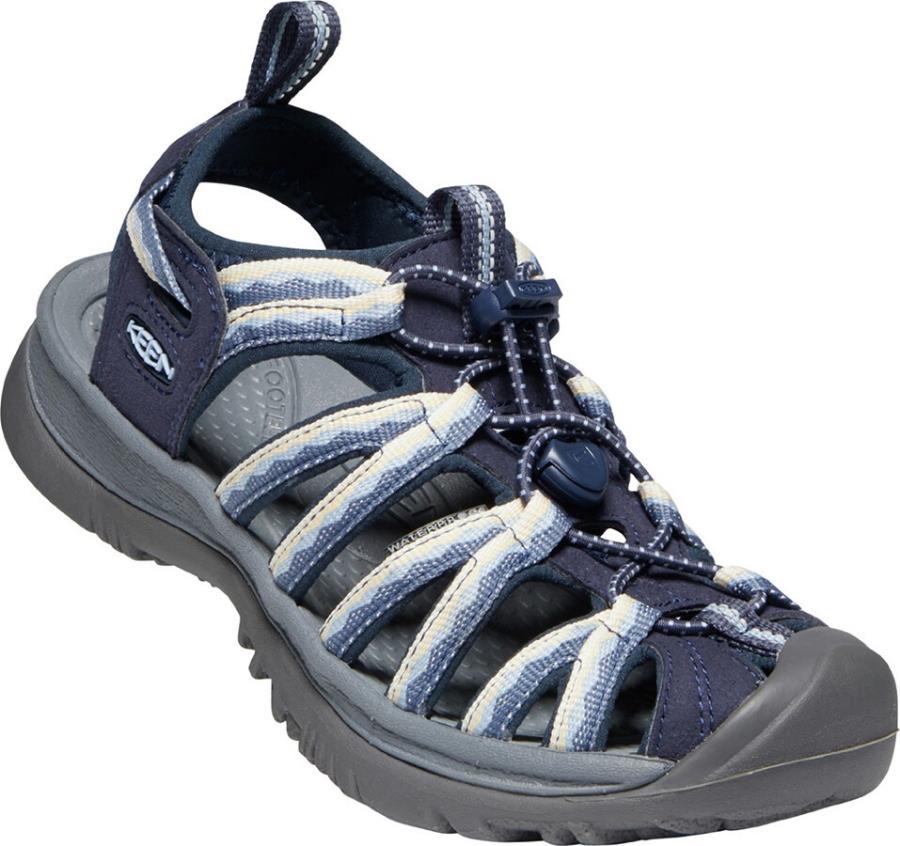 Keen Whisper Women's Walking Sandals, UK 4 Navy/Blue Fog
