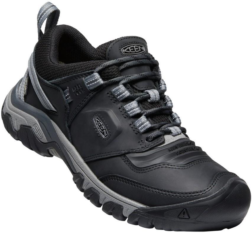 Keen Ridge Flex Waterproof Hiking Shoes, UK 10 Black/Magnet