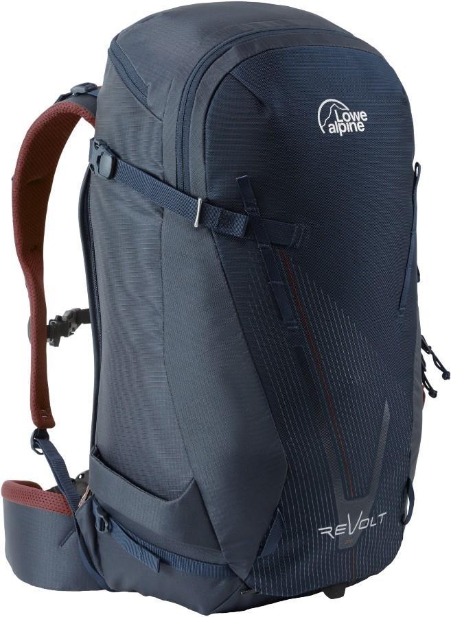 Lowe Alpine Revolt Snowboard & Skiing Backpack, 35L Navy