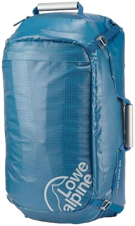 Lowe Alpine AT Kit Bag 60 Carry On Travel Duffel, 60L Atlantic Blue