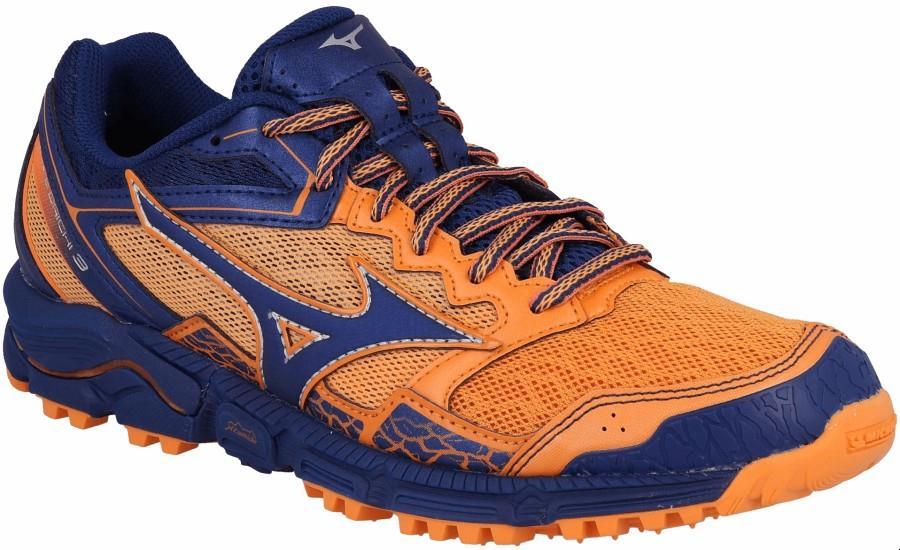 Mizuno Wave Daichi 3 Womens Trail Running Shoe, UK 8 Bird of Paradise