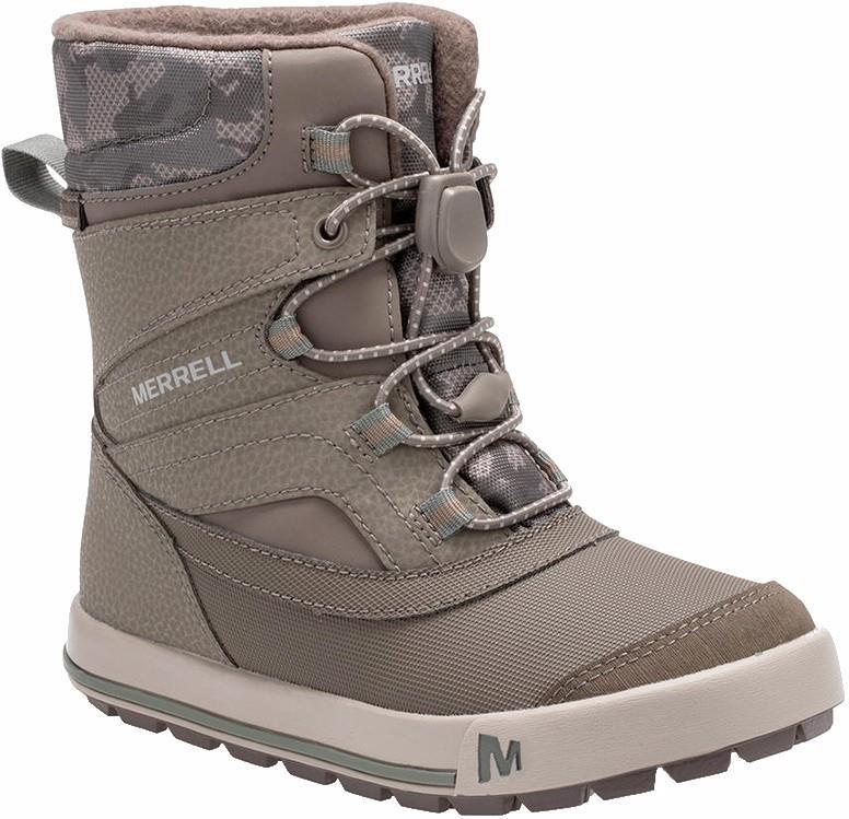 Merrell Child Unisex Snow Bank 2.0 Wtpf Kid's Winter Boots, Uk Child 13 Gunsmoke