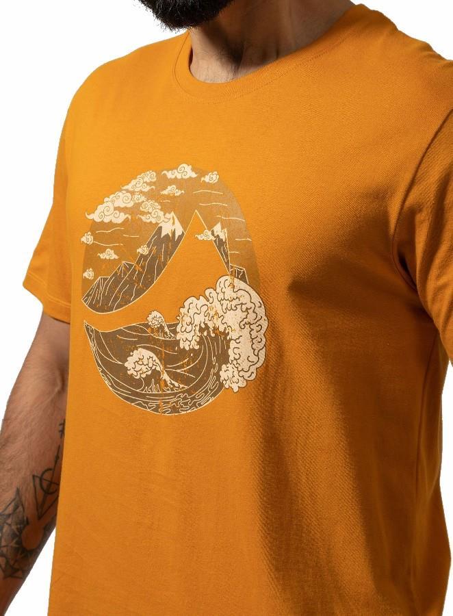 Montane Adult Unisex Great Mountain Cotton Short Sleeve T-Shirt, Xl Inca Gold