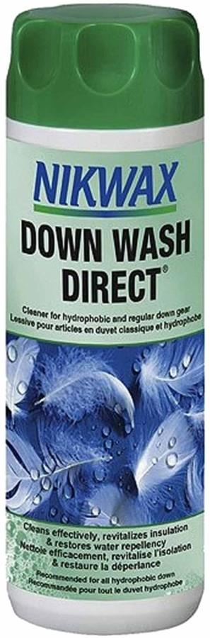 Nikwax Down Wash Direct Down Filled Clothing Cleaner, 300ml White