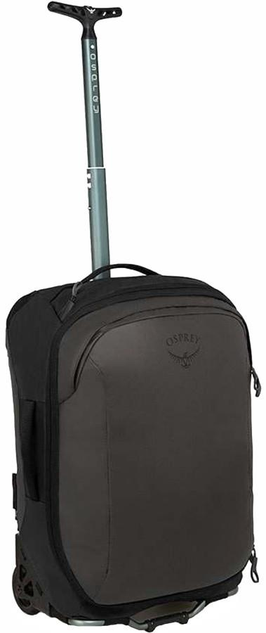 Osprey Rolling Transporter Carry-On 38 Wheeled Bag/Suitcase, 38L Black