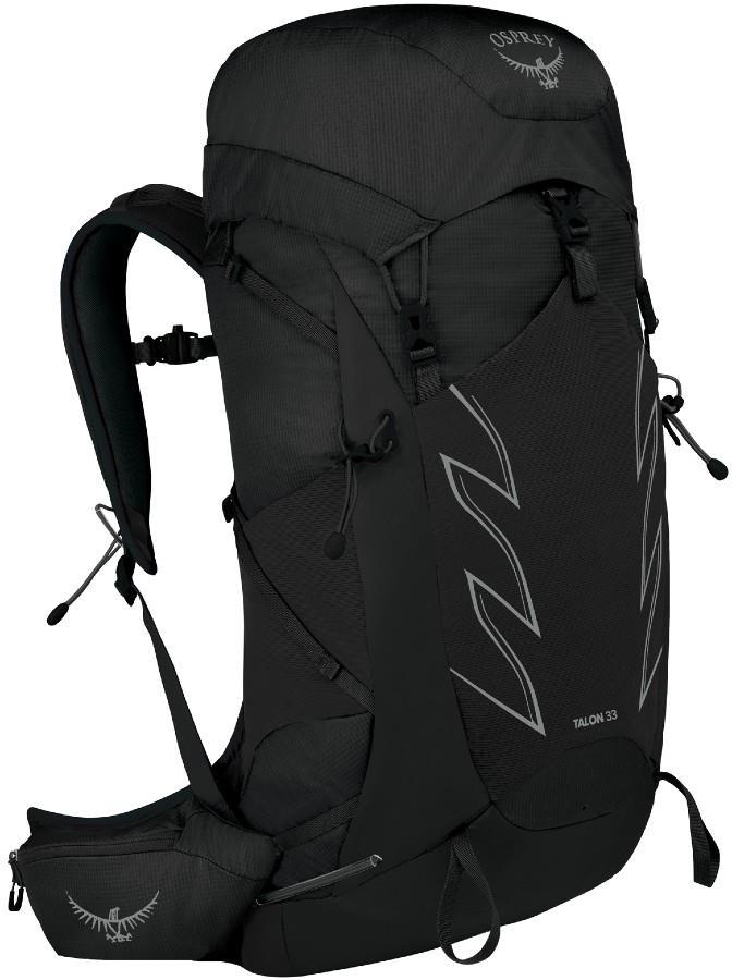 Osprey Talon 33 S/M Multi-activity Backpack, 31L Stealth Black