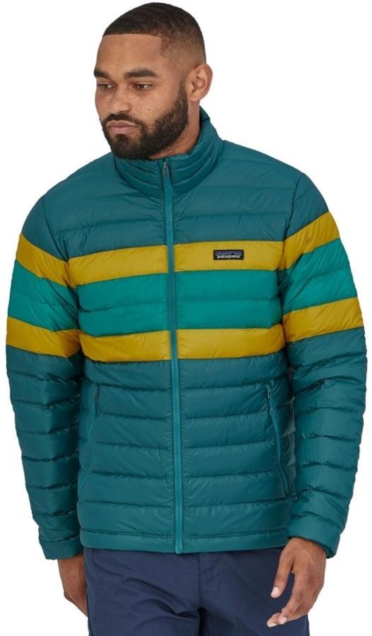 Patagonia Down Sweater Men's Insulated Jacket, L, Dark Borealis Green