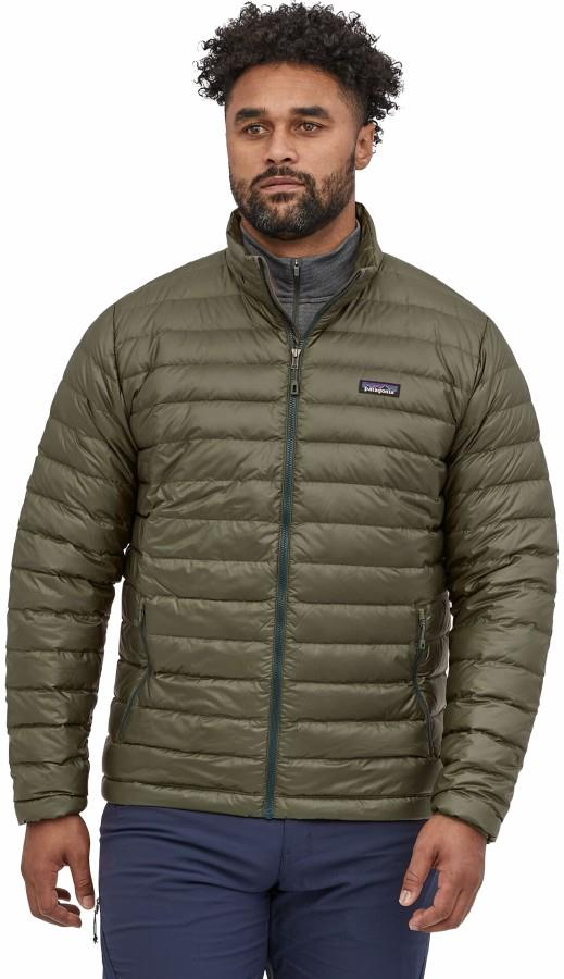 Patagonia Down Sweater Men's Insulated Jacket, L Industrial Green
