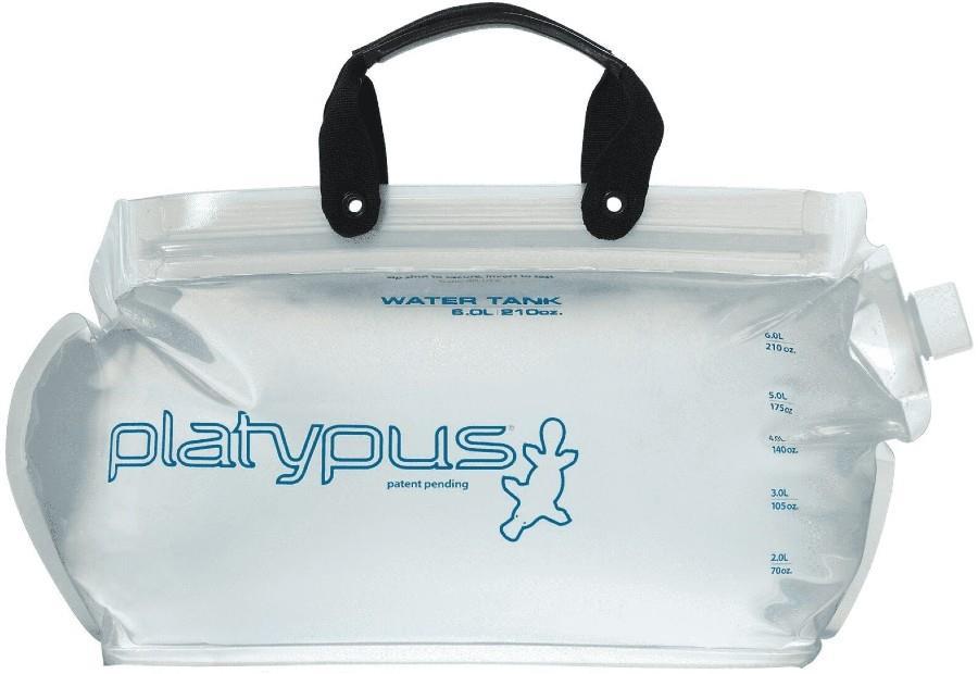 Platypus Platy Water Tank Flexible Water Carrier, 2L Clear
