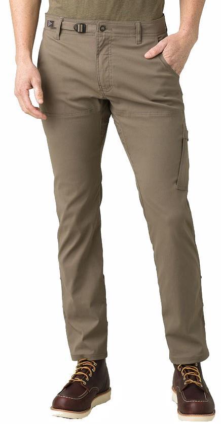 Prana Stretch Zion Straight Fit Regular Climbing Trousers - L, Mud