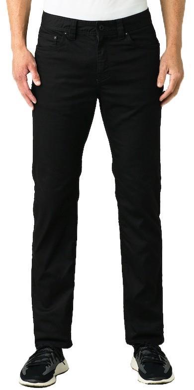 Prana Bridger Jeans Regular Hiking/Climbing Trousers, M Black Out