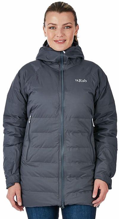 Rab Valiance Women's Insulated Parka Jacket, L / UK 104 Steel