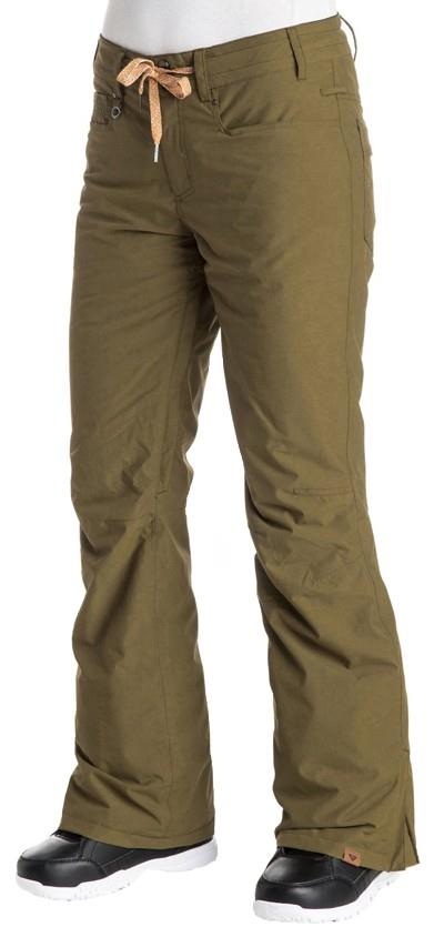 Roxy Wood Run Women's Snowboard / Ski Pants XS Military Green