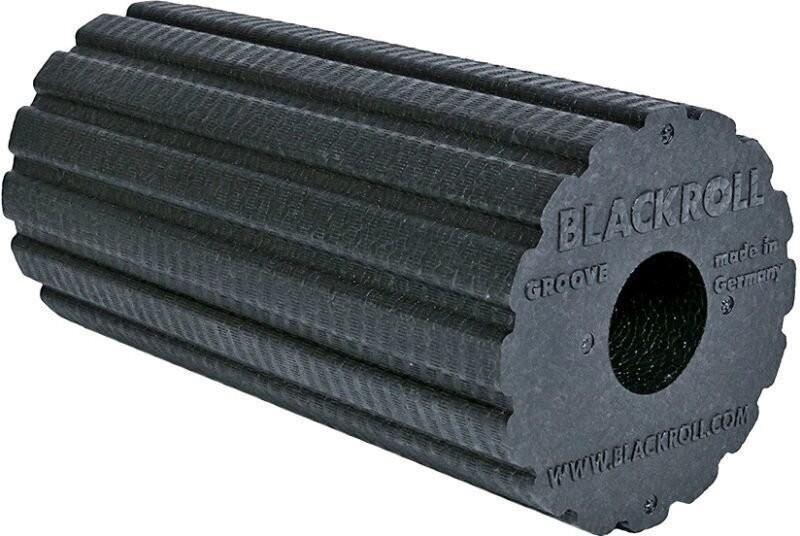 Blackroll Groove Standard Foam Massage Roller, Black