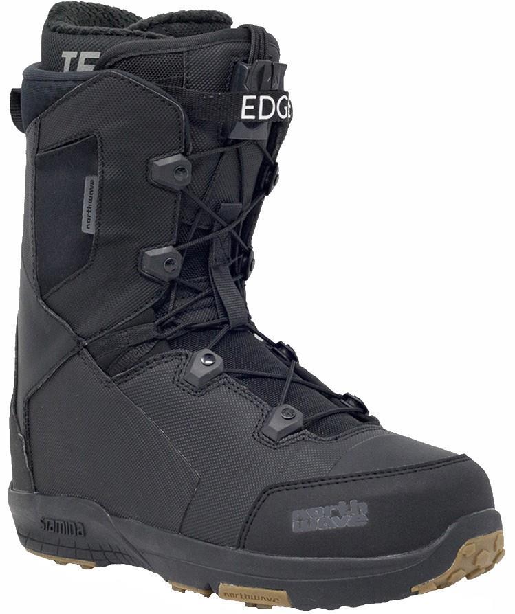 Northwave Edge SL Snowboard Boots, UK 10.5 Black 2020