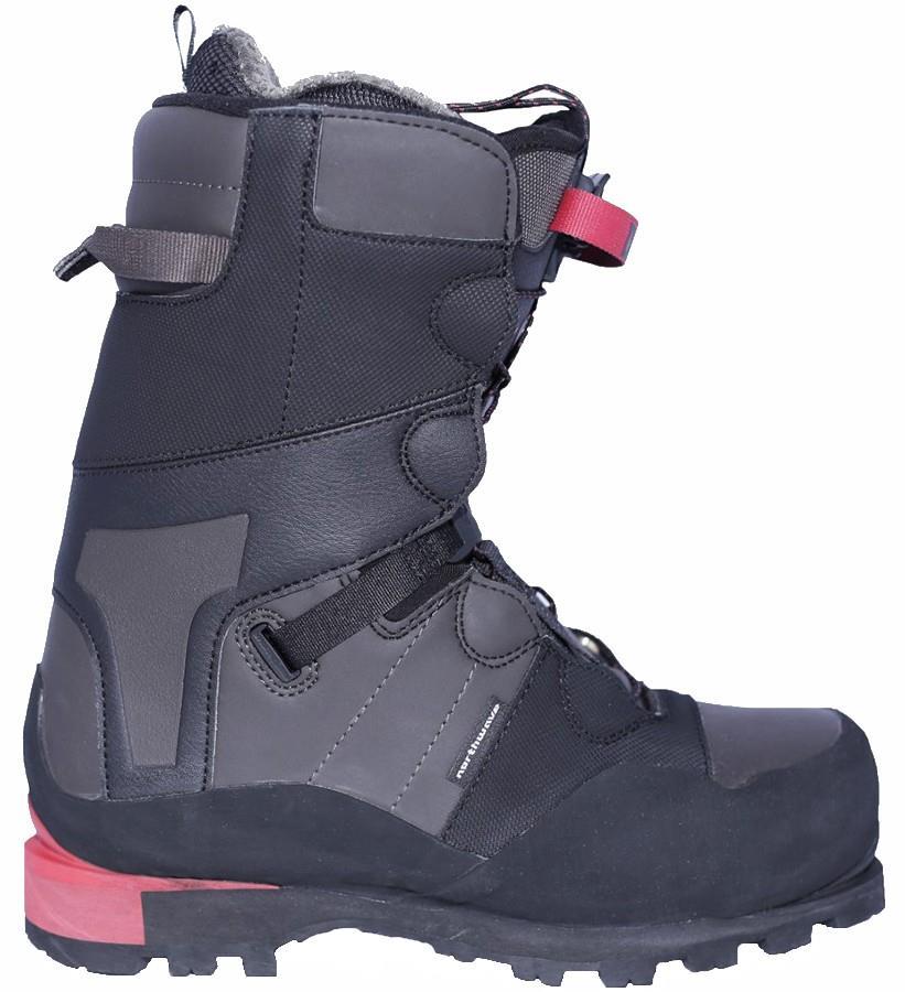 Northwave Domain CR Snowboard Boots, UK 10.5 Dark Grey 2020