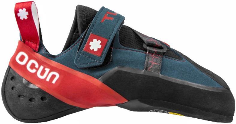 Ocun Bullit Bouldering Climbing Shoe, UK 9.5 | EU 44 Navy-Red
