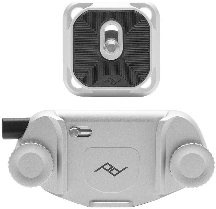 Peak Design Capture Camera Clip V3 DSLR Holster, Silver