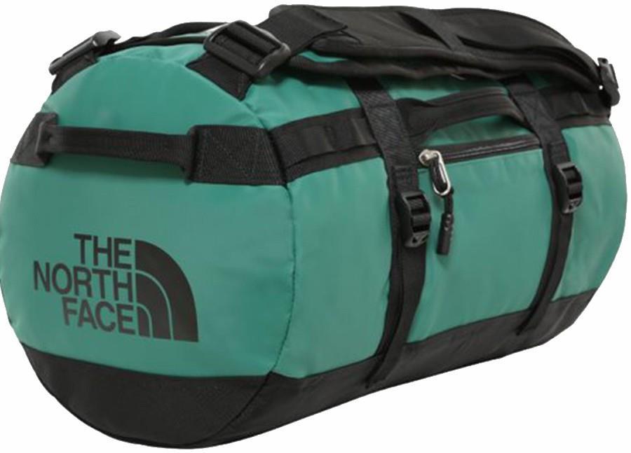 North Face Base Camp XS Duffel Travel Bag 33L Evergreen/TNF Black