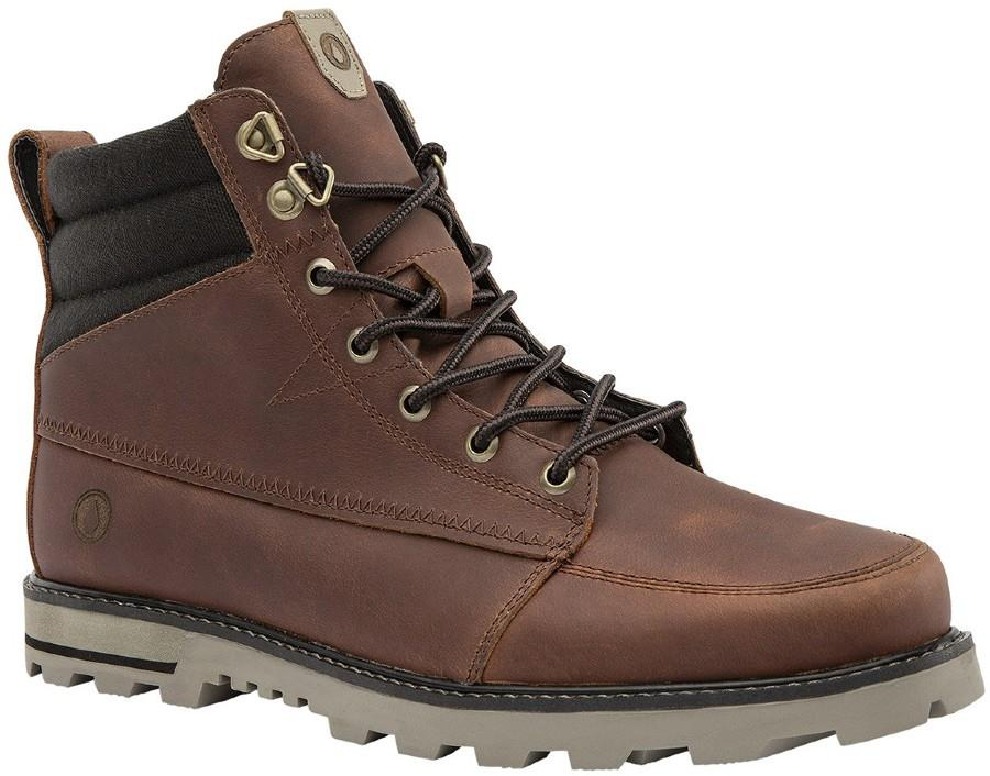 Volcom Sub Zero Men's Winter Boots, UK 6 Burnt Sienna