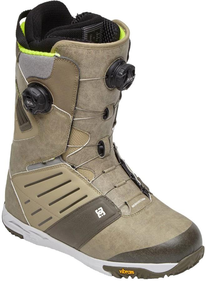 DC Judge Dual Boa Snowboard Boots, UK 10 Tan 2021