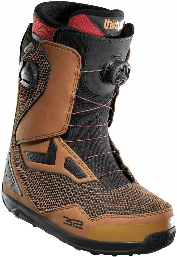 thirtytwo TM-Two Double Boa Men's Snowboard Boots, UK 8 Brown 2021
