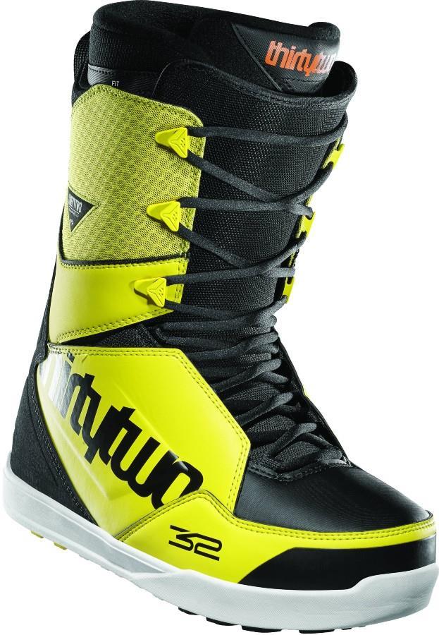 thirtytwo Lashed Men's Snowboard Boots, UK 11 Black/Yellow 2021