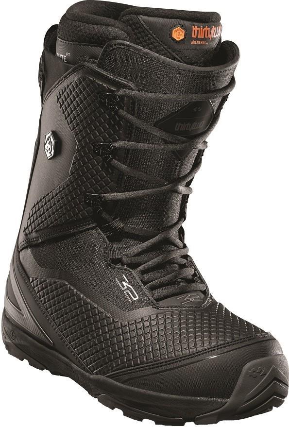 thirtytwo TM-Three Men's Snowboard Boots, UK 12 Black 2020