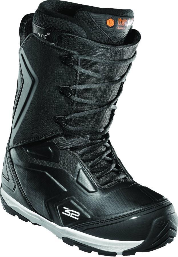 thirtytwo TM-Three Men's Snowboard Boots, UK 10 Black 2021