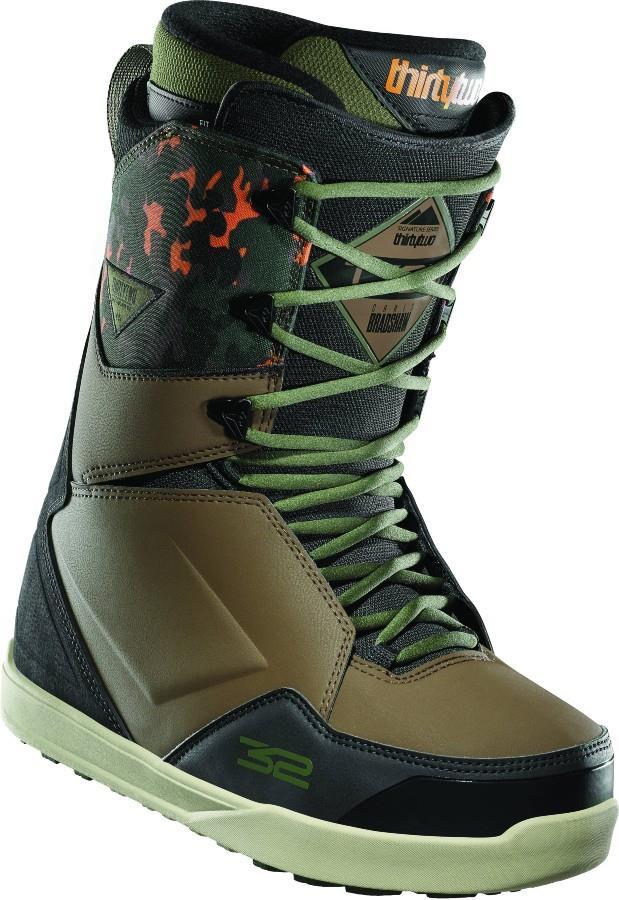 thirtytwo Lashed Bradshaw Men's Snowboard Boots, UK 12 Camo 2021