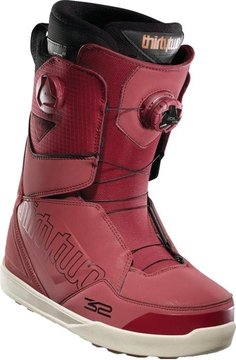 thirtytwo Lashed Double Boa Mens Snowboard Boots, UK 9 Red 2021