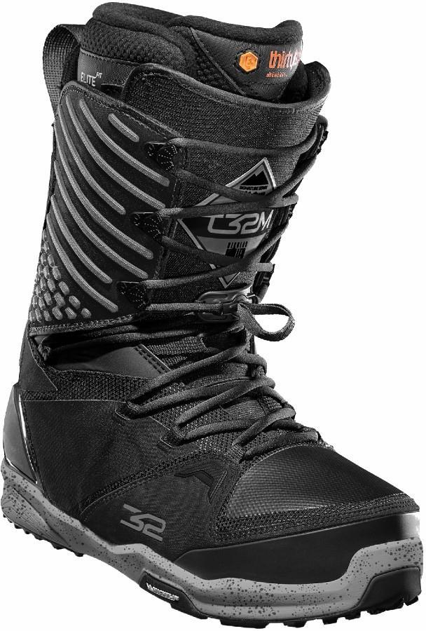 thirtytwo Mens 3xd Men's Snowboard Boots, Uk 10.5 Black/Grey 2021