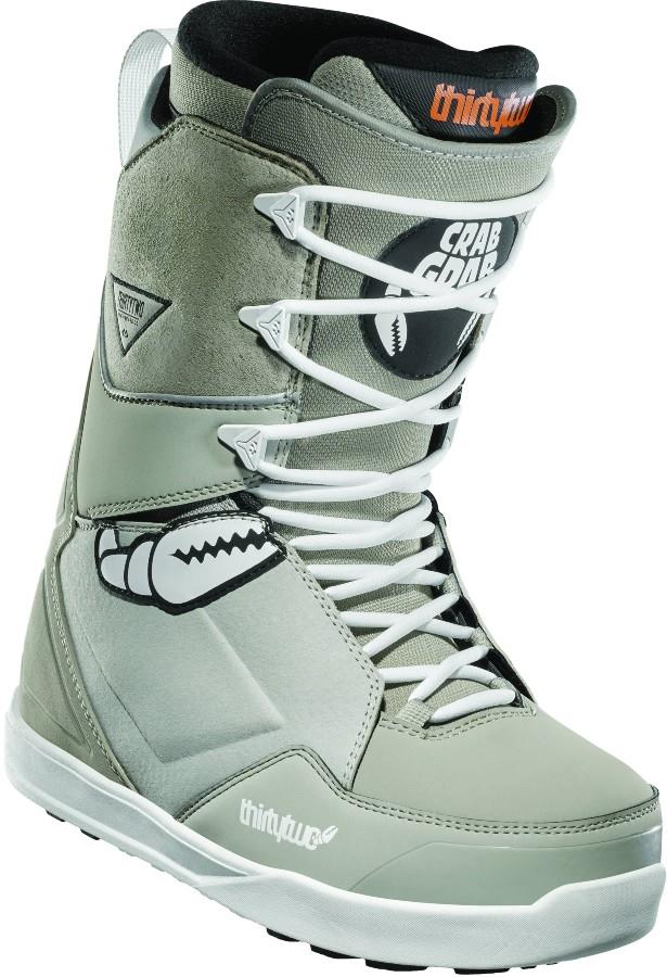 thirtytwo Lashed Crab Grab Men's Snowboard Boots, UK 9 Grey 2021