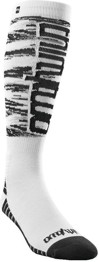thirtytwo Men's Double Ski/Snowboard Socks, L/XL White/Camo