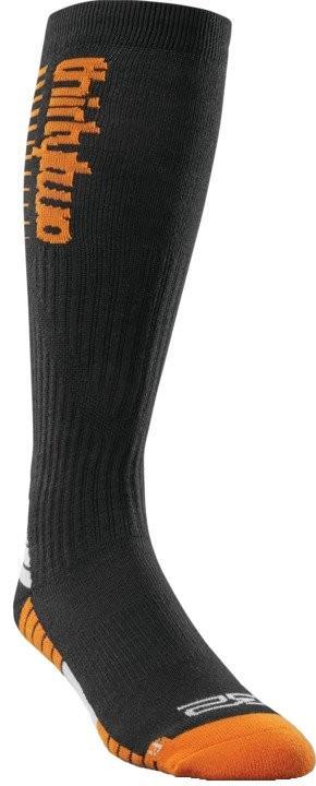thirtytwo TM Merino Snowboard/Ski Socks, S/M Black