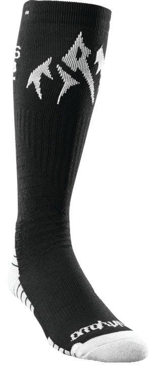 thirtytwo Jones Bamboo ASI Snowboard Socks, S/M Black