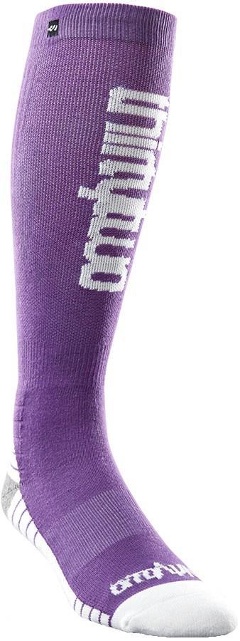 thirtytwo Women's Double Ski/Snowboard Socks, S/M Purple