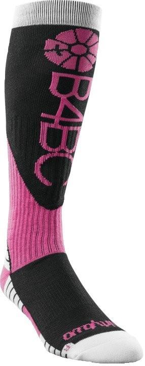 thirtytwo B4BC Merino Womens Snowboard/Ski Socks, S/M Black