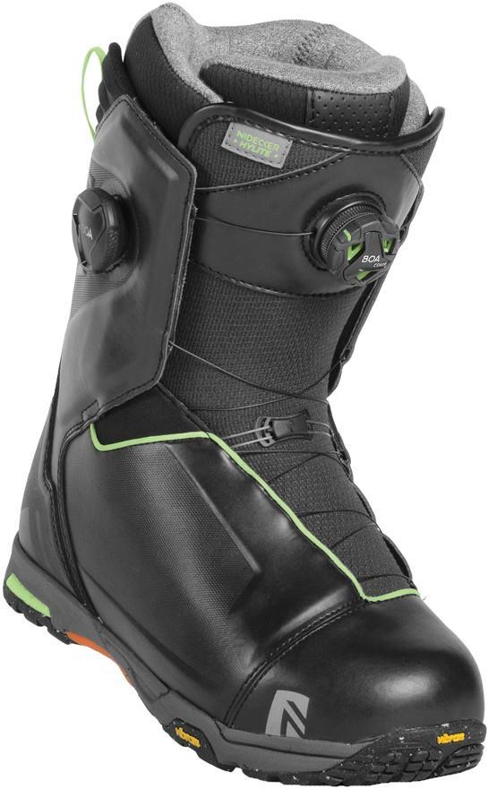 Nidecker HyLite Focus Boa Snowboard Boots, UK 11 Black 2019