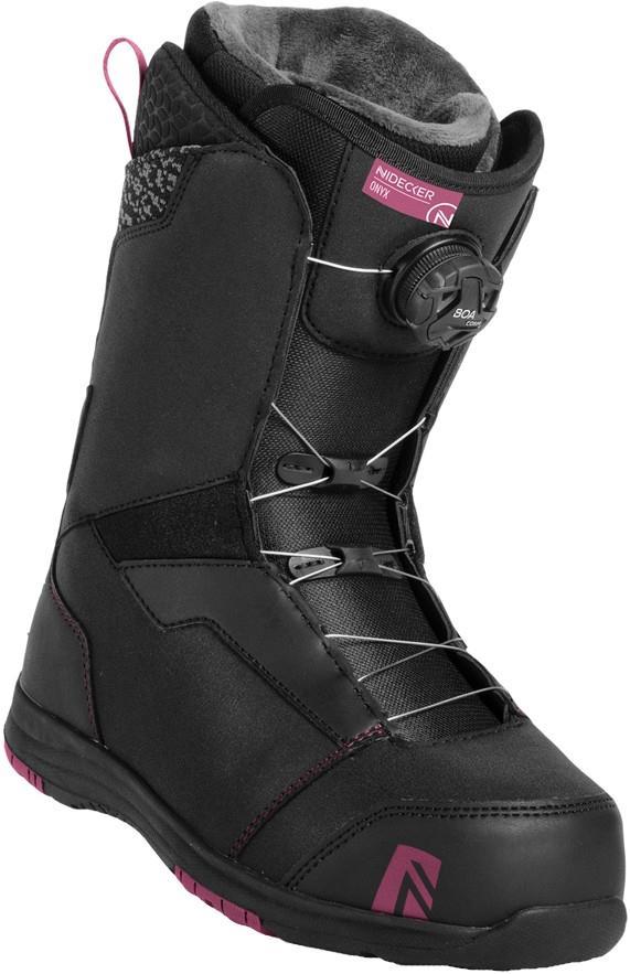 Nidecker Onyx Boa Coiler Women's Snowboard Boots, UK 4 Black 2019