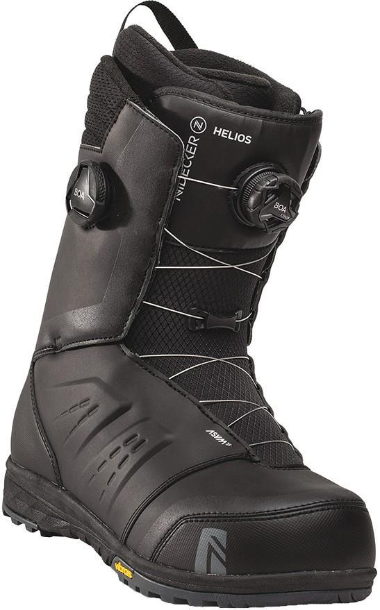 Nidecker Mens Helios Focus Boa Snowboard Boots, Uk 12 Black 2021