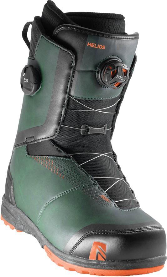 Nidecker Helios Focus Boa Snowboard Boots, UK 11 Forest 2020