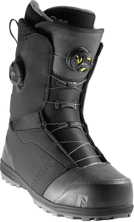 Nidecker Triton Focus Boa Snowboard Boots, UK 9.5 Black 2021